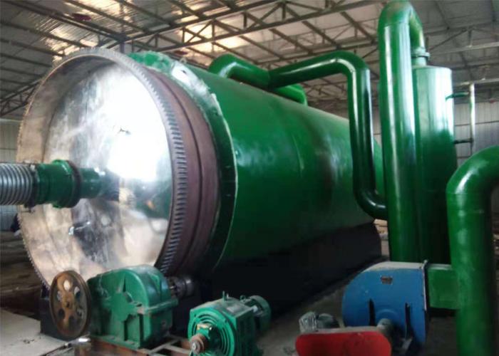 河南某地区废旧轮胎炼油设备日处理量