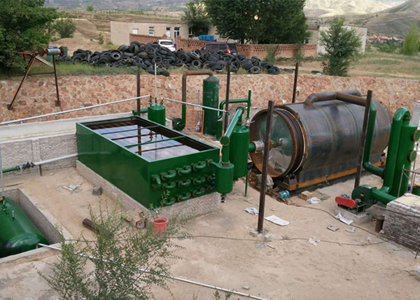 废轮胎炼油设备排放达标免费指导