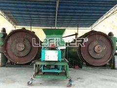 鹤壁某地废旧轮胎炼油项目